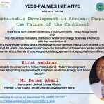 YESS-PAUWES first Webinar series