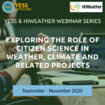 YESS & HIWeather webinar series