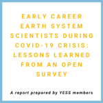 YESS report on Earth system ECRs during COVID-19 crisis
